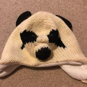 Accessories - Panda beanie hat
